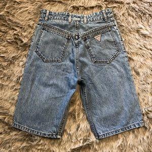 Vintage Guess Jeans Denim Shorts 90's Fashion